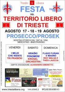 Festa del Territorio Libero di Trieste, organizzata da Trieste Libera nel 2012.