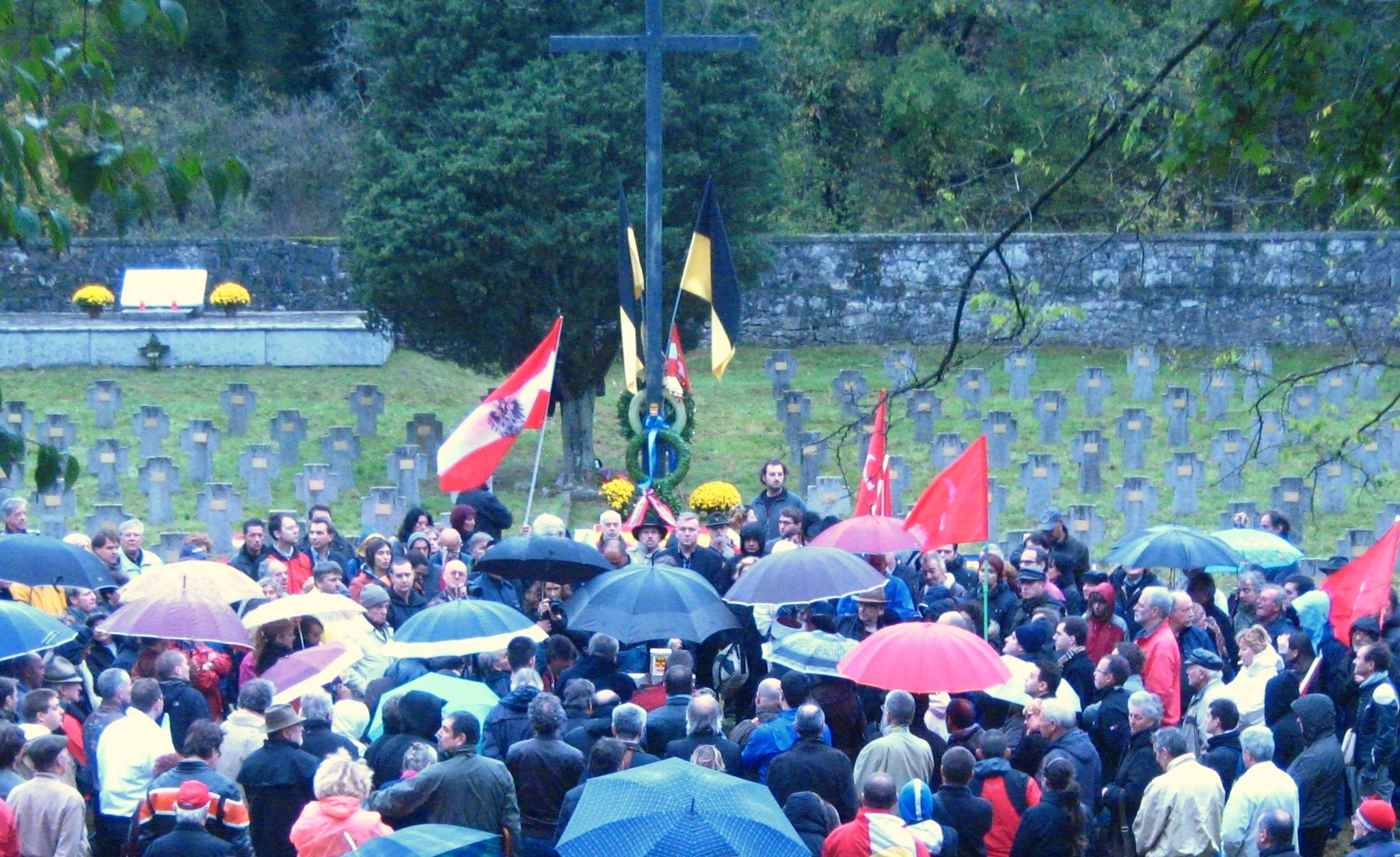 I popoli della Mitteleuropa riuniti per ricordare i caduti della Grande Guerra
