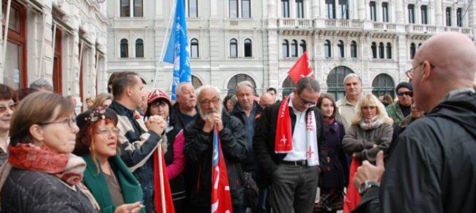 Trieste Libera: conferenza stampa sull'impugnazione della sentenza TAR FVG 530/2013