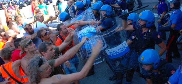 Trieste Libera è estranea al corteo di agitatori violenti del 26 agosto e sfida i responsabili a confronto