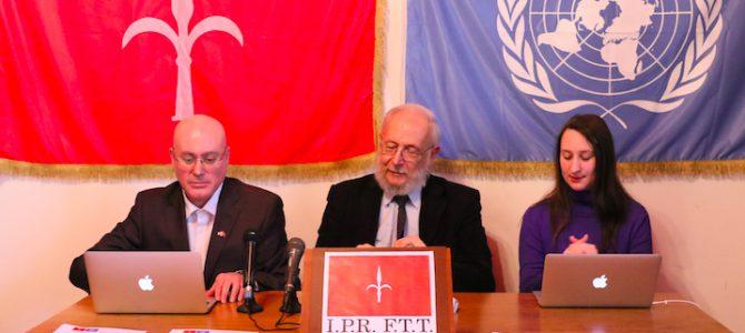 I.P.R. F.T.T. – conferenza stampa sul documento ONU S/2015/809 che conferma il Free Territory of Trieste