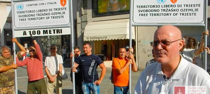 Trieste Libera: vittoria sul confine con l'Italia!
