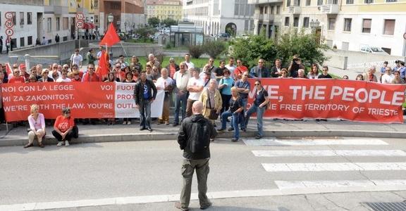 29 febbraio: dalla parte della legge – presidio al tribunale di Trieste