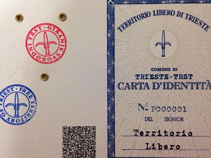 Carta d'identità del Territorio Libero di Trieste