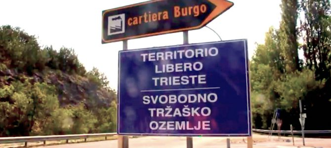 Trieste Libera: ripristinare le tabelle di confine con l'Italia