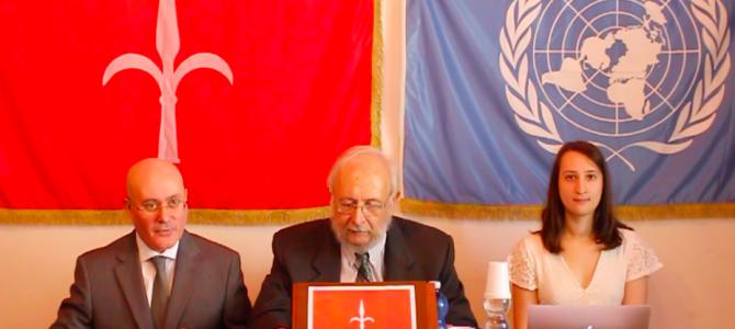 Video e documenti della conferenza stampa sulla verifica dell'amministrazione civile provvisoria italiana dell'attuale Free Territory & Free Port of Trieste