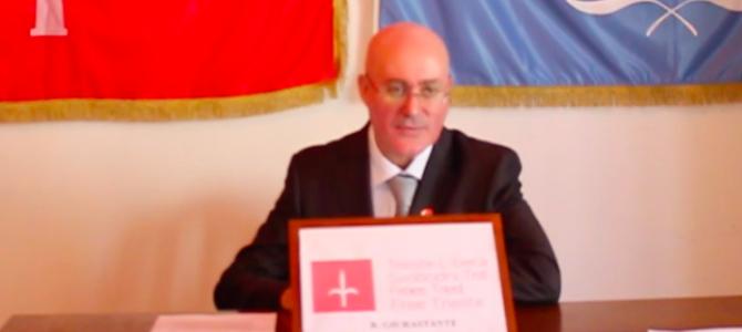 Video: Relazione sullo stato del Free Territory of Trieste e del suo Porto Franco internazionale  (2016)