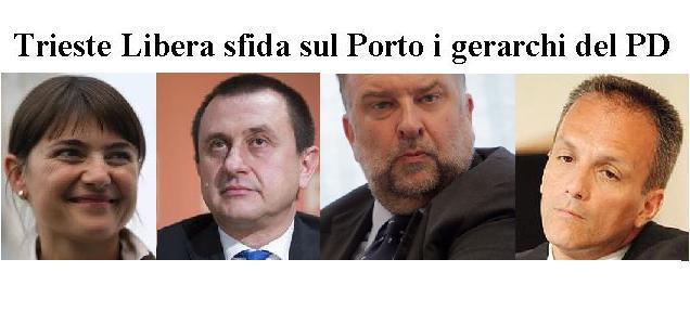 """Trieste Libera sfida Serracchiani, Cosolini, Russo e Rosato al dibattito pubblico sul Porto Franco """"vecchio"""""""
