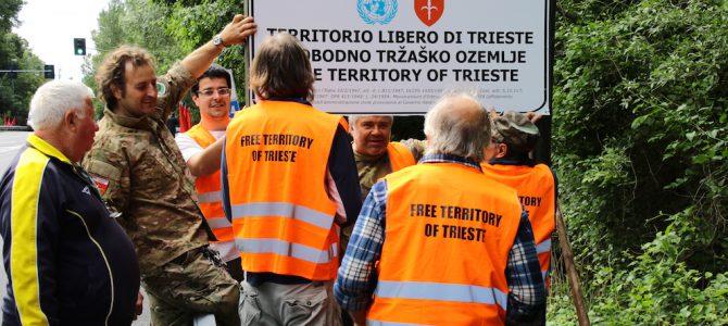 QUATTRO MESI AL CONFINE DEL TERRITORIO LIBERO DI TRIESTE