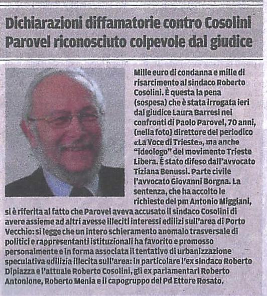 ilpiccolo_condanna_parovel
