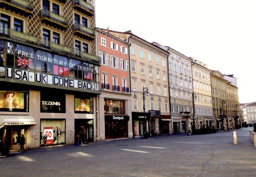 La sede del Movimento Trieste Libera