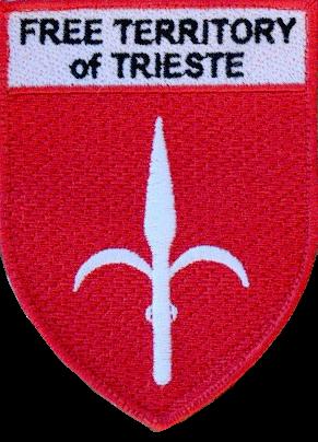 Distintivo con velcro del Free Territory of Trieste