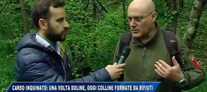 Visita all'ex discarica di Trebiciano – Trebče: laghi di idrocarburi e doline trasformate in colline di rifiuti