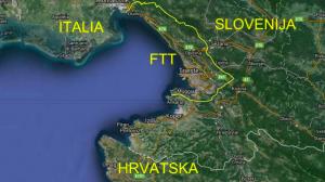 L'attuale Territorio Libero di Trieste (dal 1992)