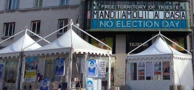 Elezioni italiane del 4 marzo: Trieste Libera presenta i moduli per il non-voto attivo
