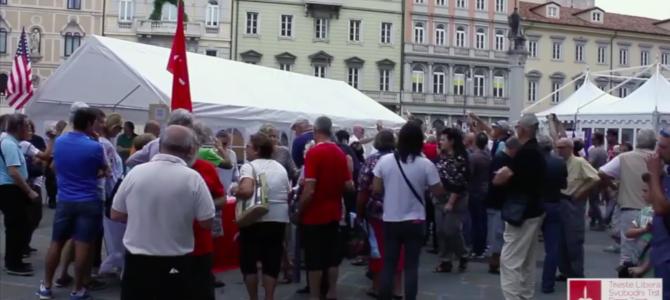"""Video: inaugurazione della mostra """"Trieste thanks America – il Piano Marshall nel Territorio Libero"""""""