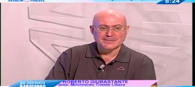Video: Roberto Giurastante a Sveglia Trieste (9 giugno 2019)