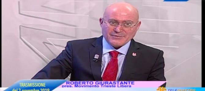 Video: Roberto Giurastante a Sveglia Trieste (2 novembre 2019)