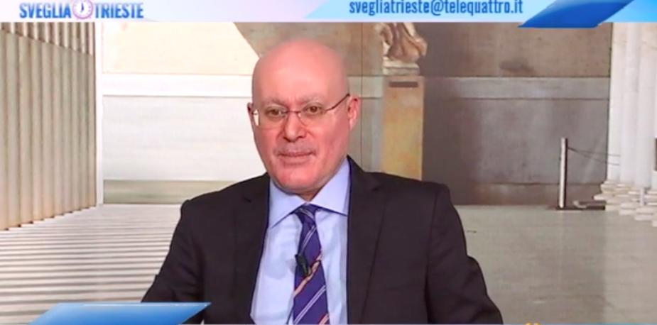 Video: Roberto Giurastante a Sveglia Trieste (12 aprile 2021)
