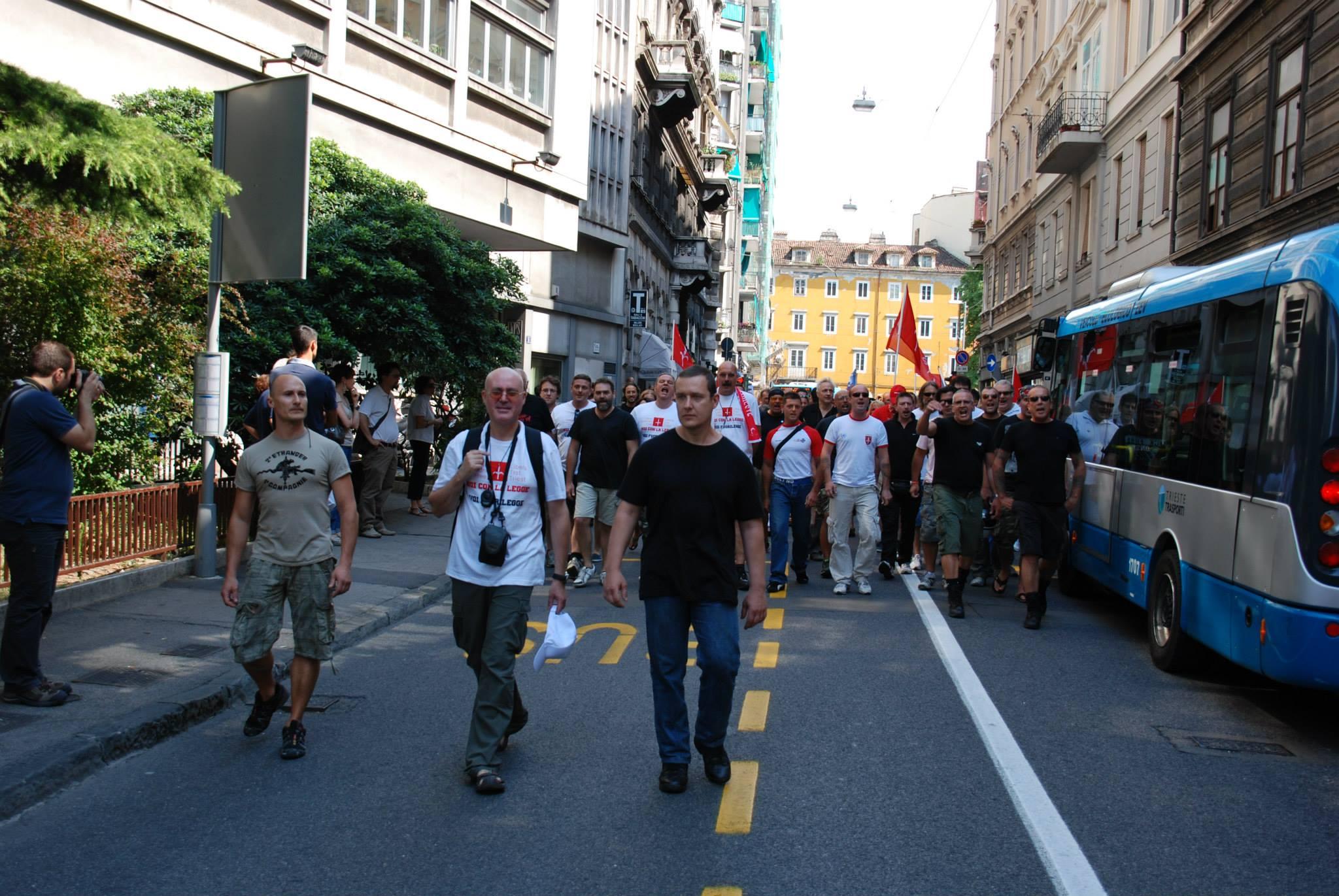 2013: presidio di Trieste Libera alla Commissione Tributaria di Trieste.