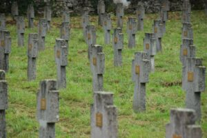 2013: le tombe dei Caduti austro-ungarici a Prosecco-Prosek.