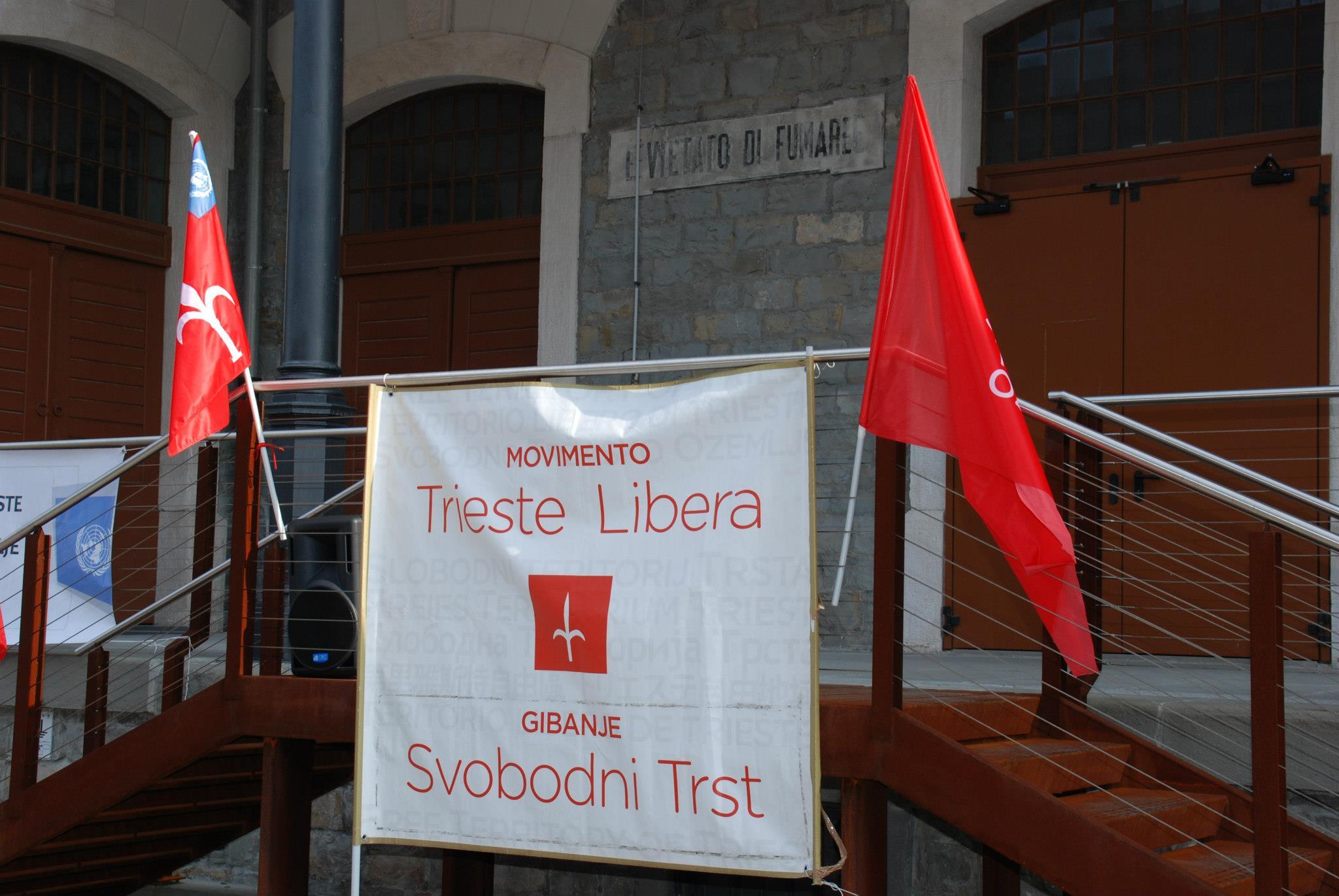 COMIZIO: NO ALLE ELEZIONI ITALIANE NEL TERRITORIO LIBERO DI TRIESTE!