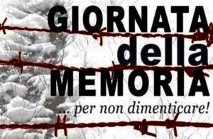 Giornata della memoria ...per non dimenticare!